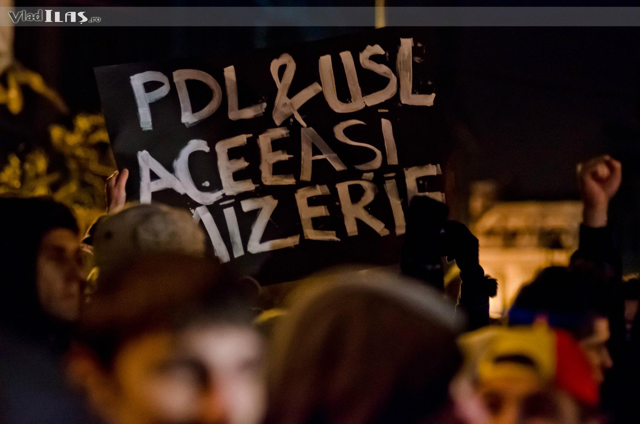 Protest ianuarie 2012